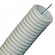 Труба гофрированная D-32мм 50м пластик для электропроводки Tplast 55.01.002.0004