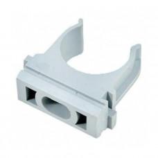 Крепеж-клипса для пластиковых труб D-16 мм (100 шт.) EKF