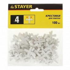 Крестики для кафеля 4 мм STAYER 3380-4