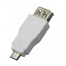 Переходник гнездо USB-A(Female)-штекер MicroUSB (Male) REXANT 18-1173
