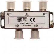 Делитель ТВ крабх4 под разъем 1000 мhz REXANT 05-6003