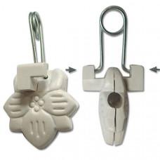 Прищепка для карниза пластмассовая без кольца