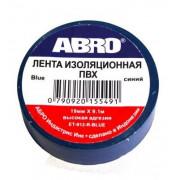 Изолента синяя ABRO ЕТ912 04010