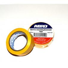 Изолента желтая ABRO ЕТ912 04013