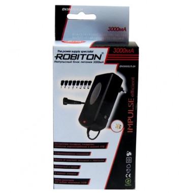 Адаптер/блок питания 3000mA Robiton IN3000S 08023