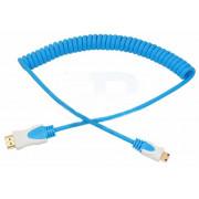 Шнур HDMI - mini HDMI 2 м витой синий REXANT 17-7125