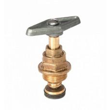 Кран-букса для вентиля d-25 мм крупная резьба