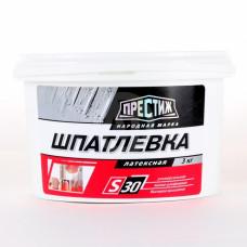 Шпатлевка латексная 3 кг Престиж