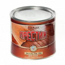 Эмаль красно-коричневая 1,9 кг Престиж ПФ-266