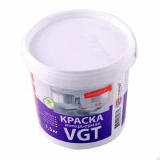 Краска для внутренних работ 1.5 л VGT ВД-АК-2180 04798