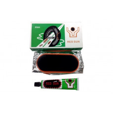 Набор резиновых латок для камер большие овальные 105 мм Red Sun RS-09