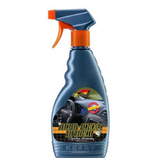 Полироль-очиститель пластика салона с матовым эффекттом 500 мл лимон KERRY KR-505-1