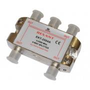 Делитель ТВ краб х4 под F разъем 2500 REXANT 05-6203