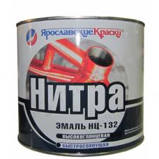 Эмаль НЦ-132 белая 1,8 кг Ярославские краски