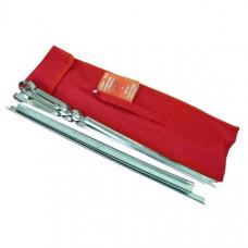Набор шампуров 620 мм с мини-мангалом в чехле С640/1