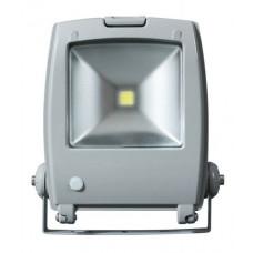 Прожектор светодиодный Jazzway PFL-N 10W/CW/SENSOR