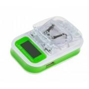 Универсальное зарядное устройство Лягушка с дисплеем 18-2238-8