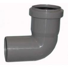 Отвод канализационный 40х90 мм SINIKON 504023.R