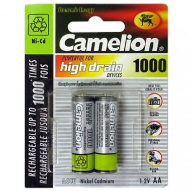 Аккумулятор маh NI-Mh BL-2 Camelion АА-1000 10328