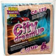 Набор салфеток микрофибра CityUp CA-122