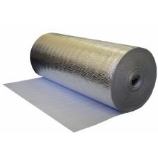 Фольгированный вспененный полиэтилен D 2х120 мм (30 погонных метров) Тепофол