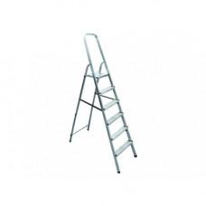 Стремянка алюминиевая 6 ступеней СИБРТЕХ 97716