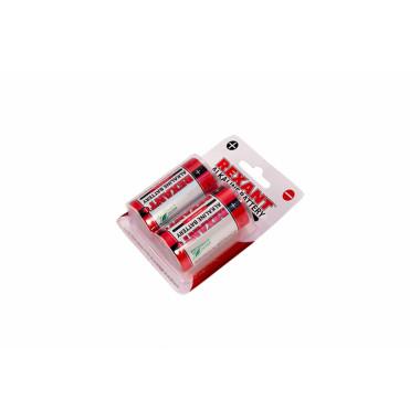 Алкалиновая батарейка 1.5V REXANT LR20 30-1020