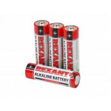Алкалиновая батарейка 1.5V REXANT LR06 30-1027