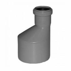 Переходник канализационный удлиненный 110х50 мм ПОЛИТЕК 511050