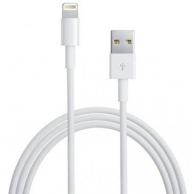 USB кабель для iPhone 5/6/7 белый 1м REXANT 18-1121-10