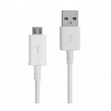 USB кабель с 2-х сторонними разъемами microUSB и USB белый 1м REXANT 18-0130-9