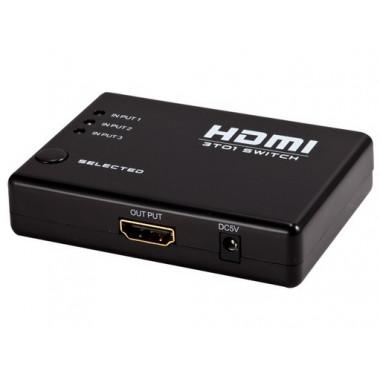 HDMI-свитчер 3 входа 1 выход FullHD DAYTON SWITCH MD-103A