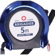 Рулетка измерительная 5 м x 25 мм BRIGADIER Gravity 11069