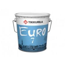 Краска 9 л Tikkurila EURO 7 А 700001121