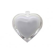 Ночник сердечко розовое с выключателем Uniel R&C А12