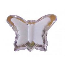 Ночник бабочка синий без выключателя Uniel R&C 806