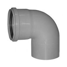 Отвод канализационный 32х87 мм SINIKON 504011.R