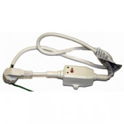 УЗО со шнуром для водогрейки 250V 16A PRCD ZJLB-16-1