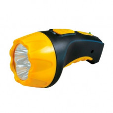 Фонарь LED (аккумуляторный, желтый/черный) Ultraflash 3804 9215