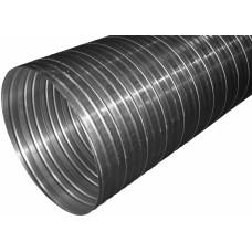 Воздуховод гофрированный алюминиевый 160 мм ЭРА 160ВА