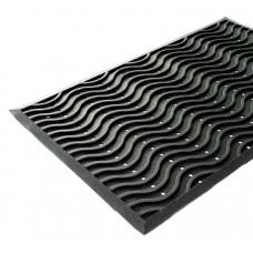 Коврик придверный резиновый 60х90 см обрез VORTEX