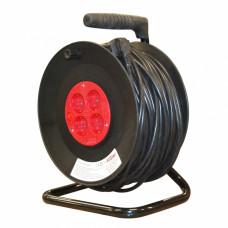 Удлинитель силовой на катушке 50 м  1,5 кв.мм