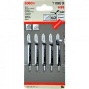 Пилки для лобзика BOSCH T119BO 2.608.630.310