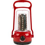Фонарь аккумуляторный кемпиновый 35+6 SMD красный Smartbuy SBF-36-R