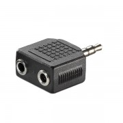 Переходник стерео штекер 3.5 мм - 2 гнезда 3.5 мм REXANT 14-0423