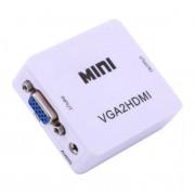 Видеоконвертер вход VGA - выход HDMI Full HD 1080P Video Converter