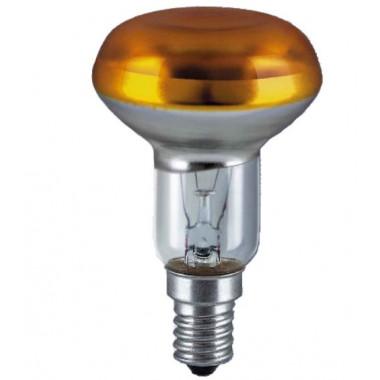 Лампа накаливания R50 YELLOW SP 40W E14 OSRAM CONC