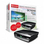 Цифровой телевизионный приемник D-COLOR DC702HD