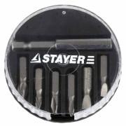 Набор бит 7 предметов STAYER 2607-Н7