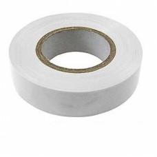 Изолента ПВХ 19 мм х 20 м белая SAFELINE 9369